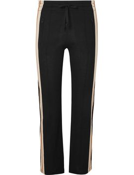 dobbs-striped-knitted-track-pants by isabel-marant-Étoile
