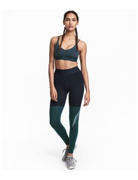 color-block-sports-tights by h&m