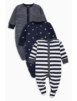 navy_white-stripe-and-star-print-sleepsuits-three-pack-(0mths-2yrs) by next