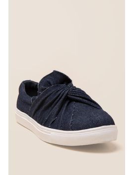 wanted-valance-denim-ruffle-sneaker by francescas