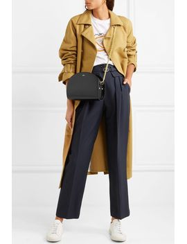 isa-belted-twill-straight-leg-pants by apc-atelier-de-production-et-de-création