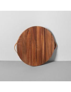 round-acacia-wood-cutting-board---hearth-&-hand-with-magnolia by hearth-&-hand-with-magnolia