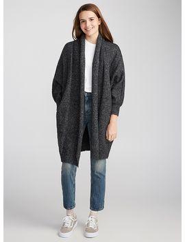 shawl-collar-cardigan by twiktwikcalvin-klein-jeansvansvans
