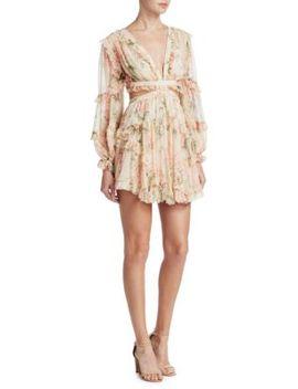 silk-floral-cutout-dress by zimmermann