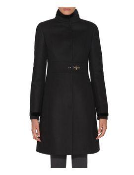 fay-womens--black-wool-coat by fay