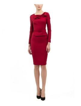 bgl-wool-blend-skirt-suit by bgl