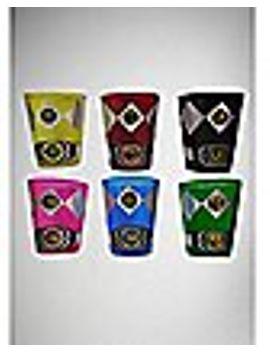uniform-power-ranger-shot-glasses-2-oz---6-pack by spencers