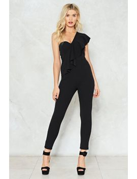 youre-the-one-ruffle-jumpsuit by nasty-gal