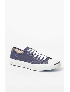 jack-purcell-canvas-navy-&-white-shoes by converse