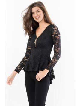 lace-fit-and-flare-toplace-fit-and-flare-top by suzy-shier