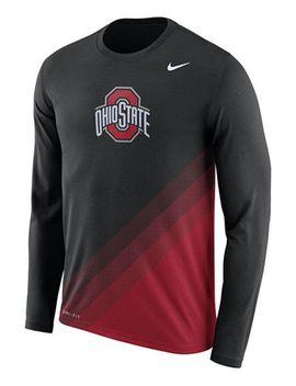 mens-ohio-state-buckeyes-legend-sideline-long-sleeve-t-shirt by nike