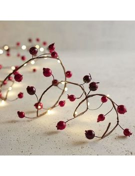 red-glittered-berry-10-led-glimmer-strings® by pier1-imports