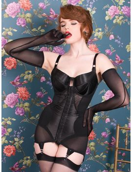 Corselette Glamour Nouveau L3021 by What Katie Did