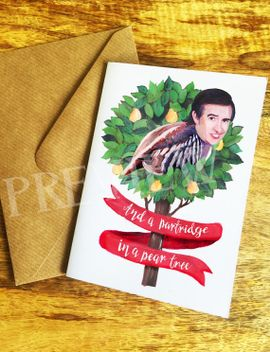 and-a-partridge-in-a-pear-tree-christmas-card by etsy
