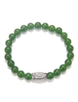 mens-jade-clarity-stretch-bracelet by satya