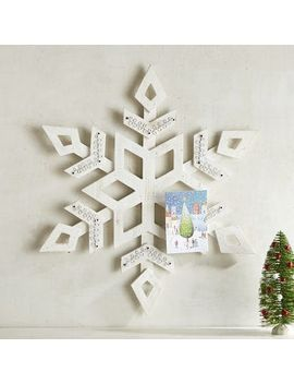 snowflake-card-holder by pier1-imports