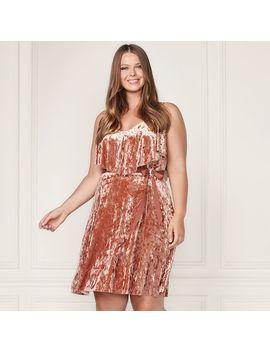 lc-lauren-conrad-runway-collection-velvet-popover-slip-dress---plus-size by kohls