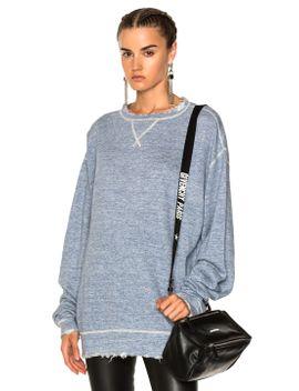 linen-sweatshirt by r13