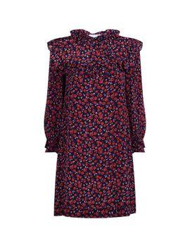 rose-print-dress by sandro