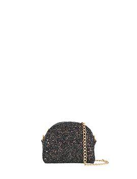 aariya-glitter-dome-cross-body-bag by accessorize