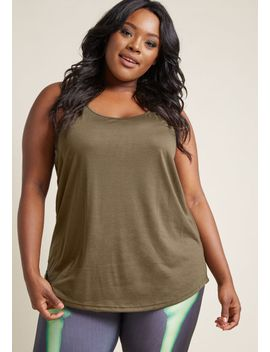 peace-and-kayak-tank-top-in-olive by modcloth