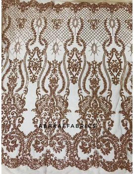 3d-lace-glitter-sequins-fabric-white-african-lace-luxury-french-net-lace-for-nigerian-wedding-dresses-5yards by etsy