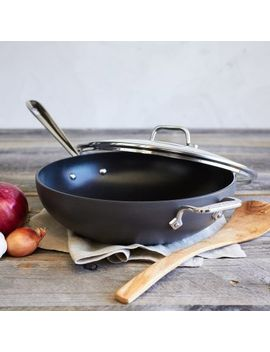 "all-clad-ha1-nonstick-covered-chef's-pan,-12"" by sur-la-table"