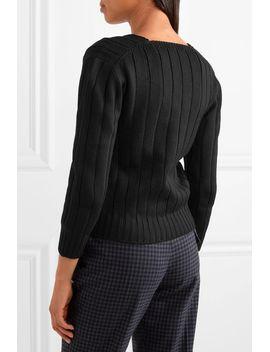 ribbed-wool-sweater by prada