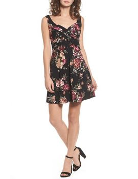 floral-fit-&-flare-dress by love,-nickie-lew