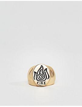monki-3-pack-ornate-rings by monki