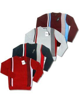 relco-mod-retro-60s-fine-gauge-knit-racing-stripe-jumper by ebay-seller