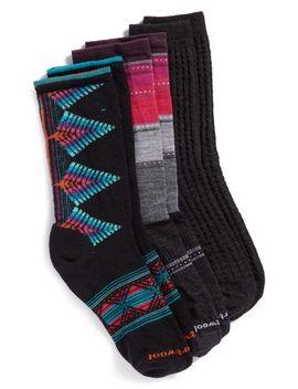 3-pack-crew-socks by smartwool