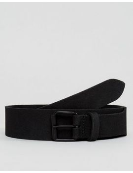 asos-slim-suede-belt-with-narrow-detail-and-matte-black-buckle by asos