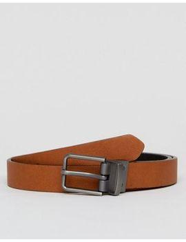 asos-smart-skinny-reversible-belt-in-black-and-tan by asos