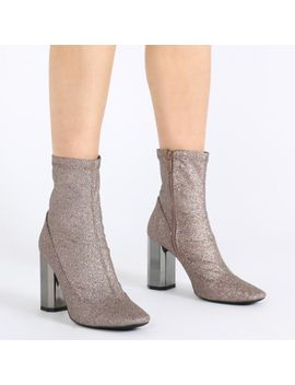 kriss-mirror-heeled-ankle-boots-in-grey-glitter by public-desire