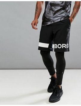 bjorn-borg-performance-shorts-with-logo by bjorn-borg