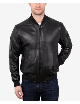 mens-leather-varsity-baseball-jacket by william-rast