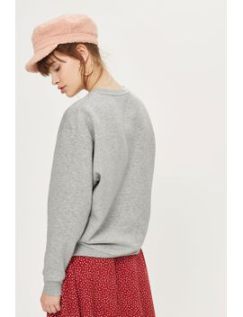 sloppy-style-sweatshirt by topshop