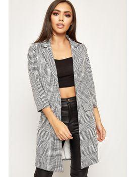 lucy-houndstooth-longline-blazer by wearall