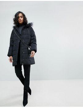 yas-down-padded-coat by yas