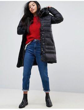 vero-moda-petite-down-padded-parka-with-faux-fur-hood by vero-moda-petite