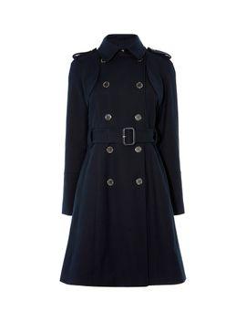 cotton-trench-coat by karen-millen