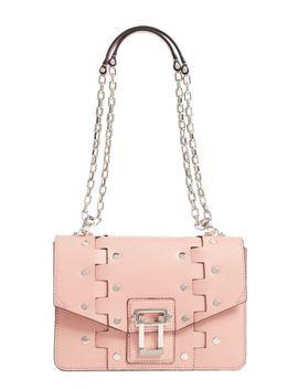 hava-studded-leather-shoulder-bag by proenza-schouler