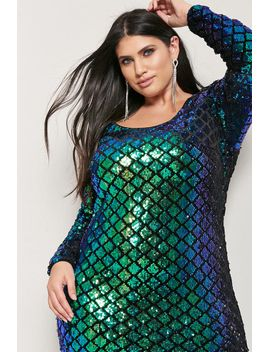 plus-size-cutout-sequin-mini-dress by forever-21