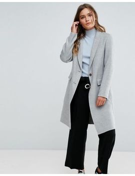 new-look-gray-tailored-coat by new-look