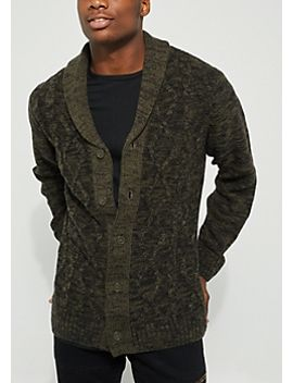 navy-cable-knit-cardigan by rue21