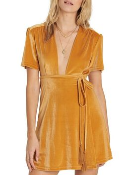 velvet-dress by billabong