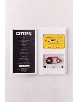 citizen---as-you-please-limited-cassette-tape by urban-outfitters