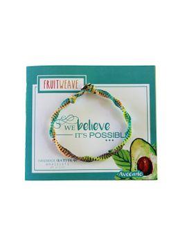 avocado-feather-bracelet,-guatemalan-bracelets,-handmade-bracelets,-colorful-bracelets,-fruit-based,-fruit-weave,-friendship-bracelets by etsy