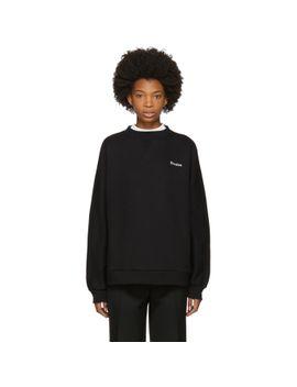 black-maybe-logo-sweatshirt by Études
